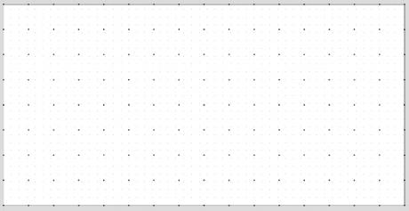 "6"" grid of 1/4"" holes"